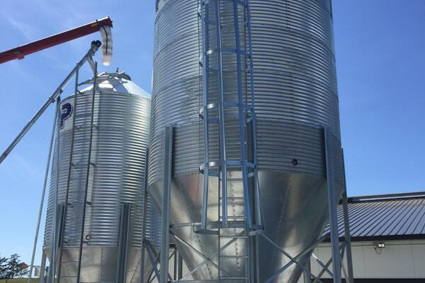 image of Feed System Silos