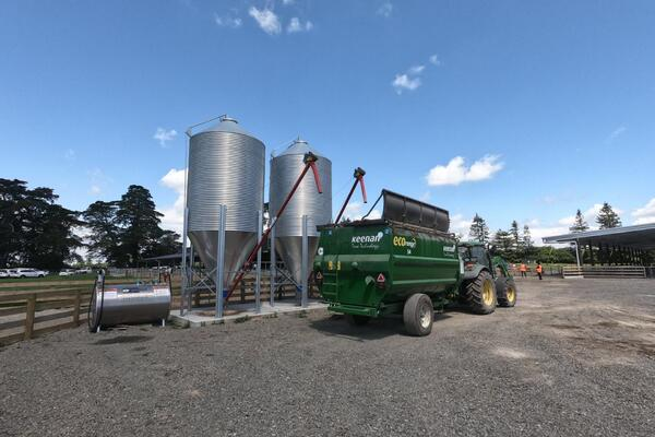 image of Feed Storage - Augers